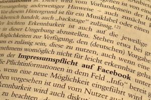 Spindler/Schuster/Auszug/Impressum/Facebook/§ 5 TMG/Schirmbacher